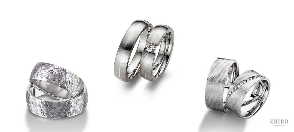 Обручальные кольца широкие с бриллиантом